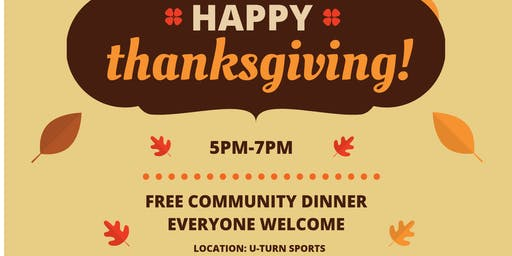Free Community Thanksgiving Dinner