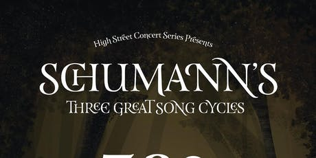 Schumann's Three Great Song Cycles tickets