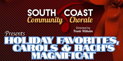 South Coast Community Chorale Holiday Concert