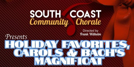 South Coast Community Chorale Holiday Concert tickets