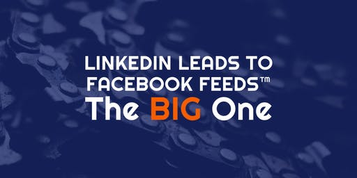 LinkedIn Leads To Facebook Feeds™ - THE BIG ONE!