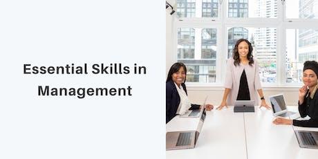 Essential Skills in Management tickets