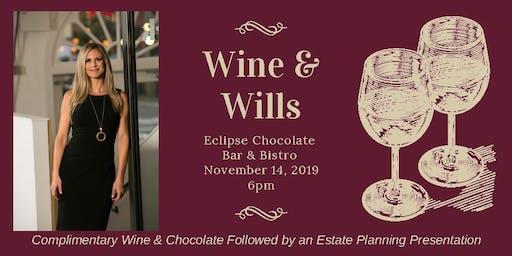 Wine & Wills - Wine and Chocolate Tasting + Estate Planning Workshop