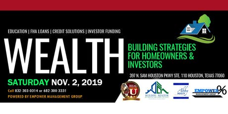 Wealth Building Strategies in Real Estate tickets
