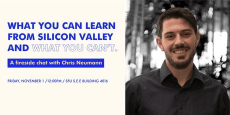 What You Can Learn From Silicon Valley & What You Can't with Chris Neumann tickets