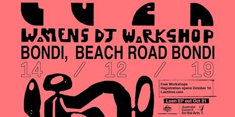 Womens DJ Workshops Sydney (Bondi) tickets