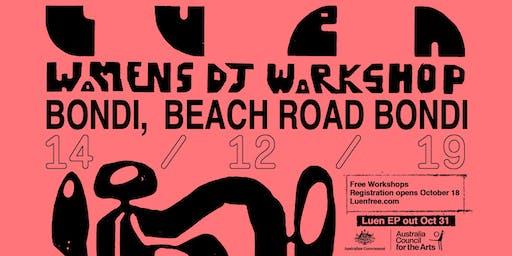 Womens DJ Workshops Sydney (Bondi)