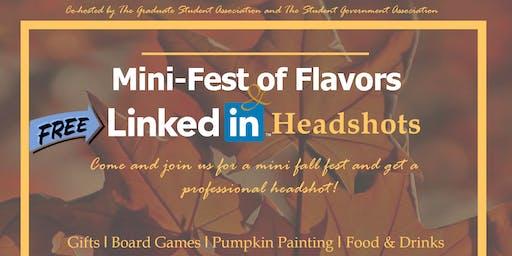Mini Fest of Flavors and FREE Linkedin Headshots!
