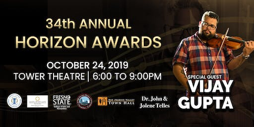 The 34th Annual Horizon Awards, presented by the Fresno Arts Council