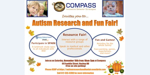 Autism Research and Fun Fair