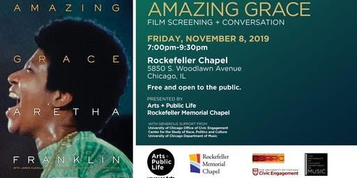 Amazing Grace: Film Screening + Conversation