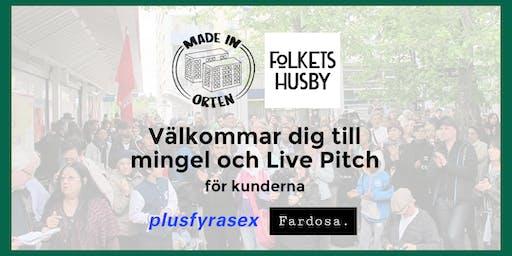 Made in Orten - Live Pitch och Mingel