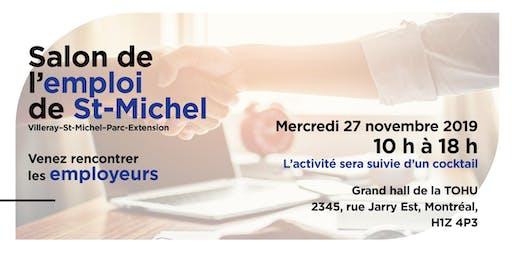 Salon de l'emploi de St-Michel