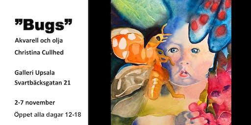 """""""Bugs"""" - Akvarell och olja av Christina Cullhed på Galleri Upsala"""