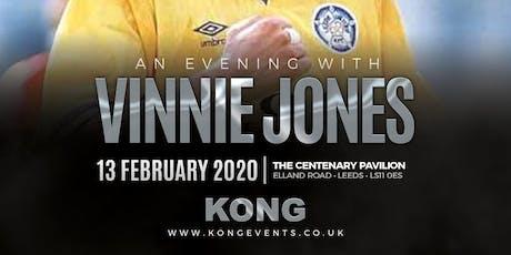 An Evening With Vinnie Jones tickets