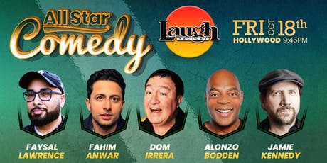 Jamie Kennedy, Alonzo Bodden, and more - Special Event: All-Star Comedy tickets