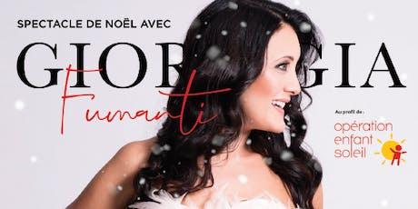 Spectacle de Noël avec Giorgia Fumanti billets