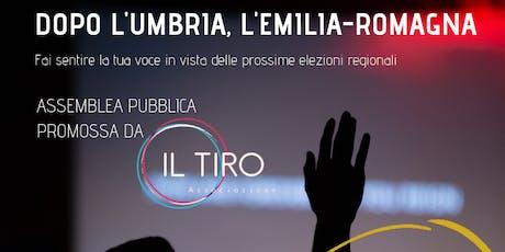 Dopo l'Umbria, l'Emilia-Romagna biglietti