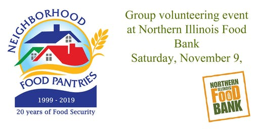 Thanksgiving Food Packing event sponsored by Neighborhood Food Pantries