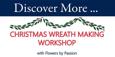 Wreath Making Workshop with Flowers by Passion
