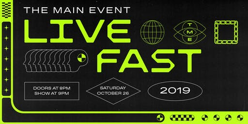 The Main Event Dance Showcase + Party: Live Fast