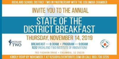 2019 Richland Two State of the District