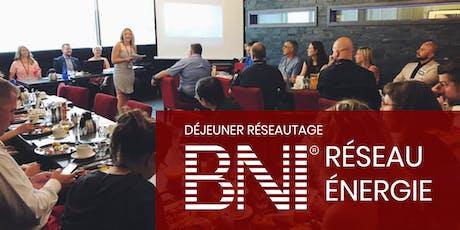 Réseau Énergie - Déjeuner réseautage d'affaires  tickets