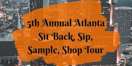 Atlantas Sit Back, Sip, Sample and Shop