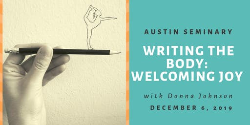 Writing the Body with Donna Johnson