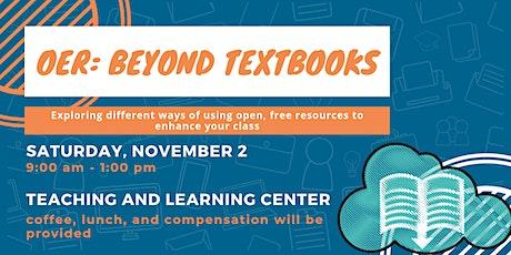 OER: Beyond Textbooks boletos