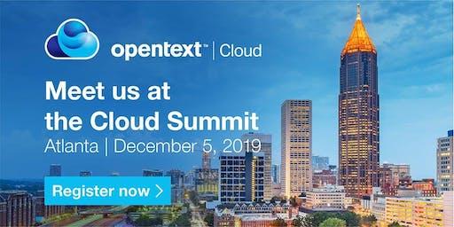 OpenText Cloud Summit - Atlanta