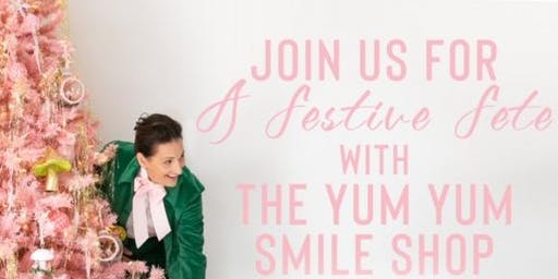 A Festive Fete with Libbie Summers and the YUM YUM SMILE SHOP