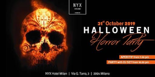 HALLOWEEN MILANO - THE HORROR PARTY - NYX   BJOY