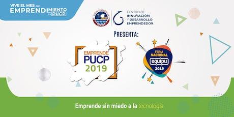 Emprende PUCP 2019 entradas