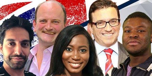TPUK London event - Douglas Carswell, Lance Forman MEP, & TPUK Influencers