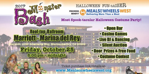 Monster Bash Halloween Costume Party & Fun-raiser