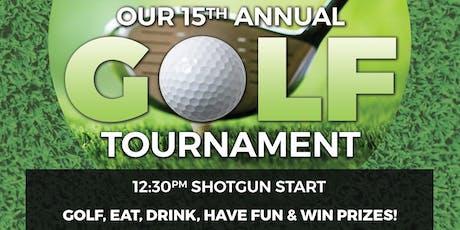 15th Annual Golf Tournament tickets