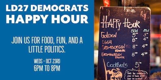 LD27 Democrats Happy Hour