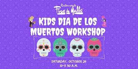 Kids' Dia de los Muertos Sugar Skull Workshop 2019 tickets