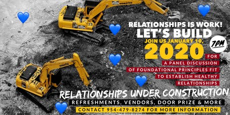 The Relationship Forum: Relationships Under Construction tickets