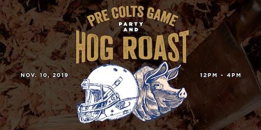 Pre - Colts Game Hog Roast