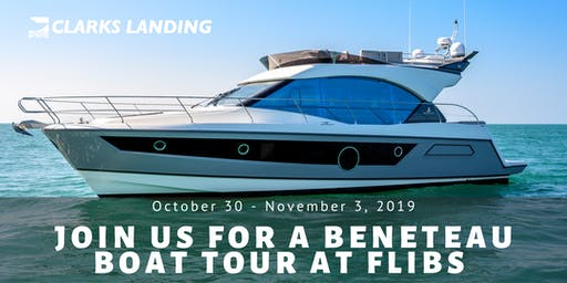 Exclusive Tour of Newly-Designed BENETEAU Boats at FLIBS!