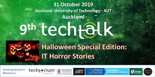 TechTalk @ AUT - Halloween Special