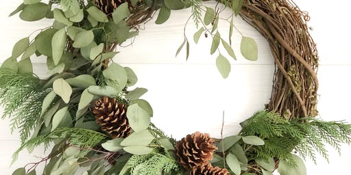 Fresh Holiday Wreath Workshop