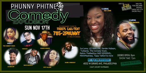 Phunny Phitness Comedy Explosion at ENCORE PHILLY