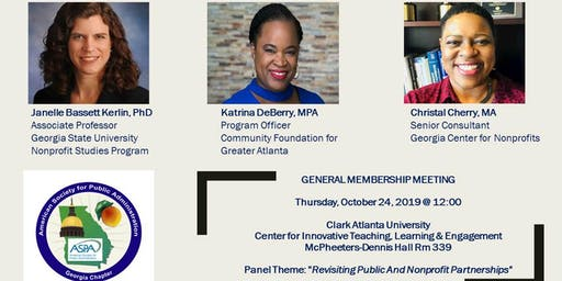ASPA-Georgia General Membership Meeting