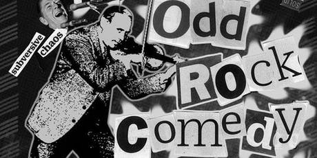 The Odd Rock Comedy Hour tickets
