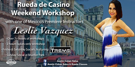 Rueda de Casino Immersive Workshop with Leslie Vazquez tickets