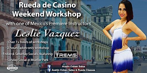 Rueda de Casino Immersive Workshop with Leslie Vazquez