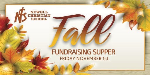 NCS Fall Supper Potato Bar and Dessert Auction